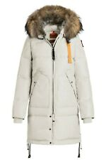NWT Parajumpers Long Bear Down Jacket - Women's. Chalk, S