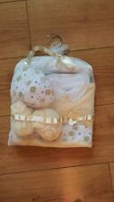 BABY BOY JUST TOO CUTE LAYETTE 5 PEICE GIFT SET 100% COTTON BRAND NEW