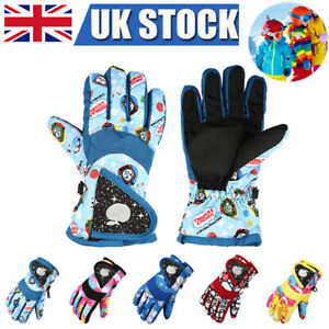 Unisex 6 Pairs Kids Gloves Winter Knitted Colorful Stripe Gloves Magic Full Finger Gloves Stretchy Warm Gloves for Boys and Girls 4-9 Years Old