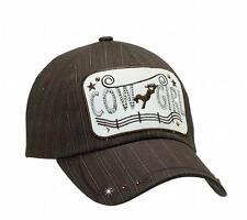 M&F Western Hat Womens Baseball Cap Cowgirl Horse Brown 1564602