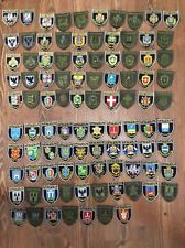 PATCH UKRAINE NATIONAL POLICE - FULL ORIGINAL COLLECTION 97 PATCHES  2018 year