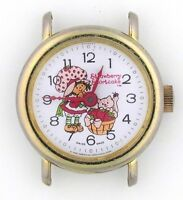 Vintage wind-up Bradley Strawberry Shortcake Character Watch for Repair