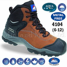 Himalayan Mens 4104 Nubuck Fully Waterproof Boot 4104br080 8