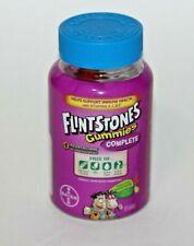 FLINTSTONES COMPLETE GUMMIES VITAMIN A C E IMMUNE HEALTH KIDS CHILDREN BAYER