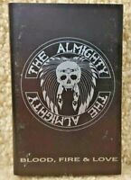 Vintage 1989 Cassette Tape The Almighty Blood Fire & Love Polygram Records