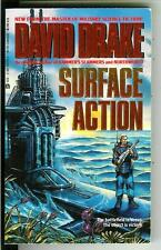 SURFACE ACTION by David Drake, rare US Ace military sci-fi pulp vintage pb