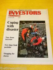 INVESTORS CHRONICLE - TONY BENN INTERVIEW - JUNE 2 1989