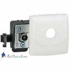 Prise TV appareillage saillie composable - blanc Legrand 86140