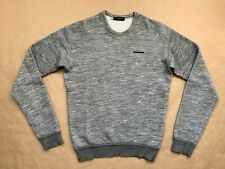DSQUARED² ULTRA RARE COOL WOOL GREY SWEATER SWEATSHIRT S/S 2014 SIZE M SS SUMMER