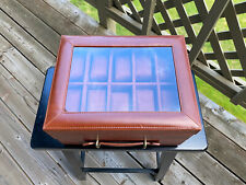 Fossil Leather Ten Piece Watch Box ORIGINAL NEW Fast Shipping