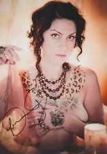 Danielle Colby-Cushman (Nude) American Pickers RARE TATTOOS SIGNED RP 8x10 WOW!!