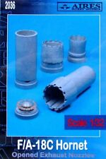 Aires 1/32  F/A-18c Hornet Opened Exhaust Nozzles for Academy kit # 2036