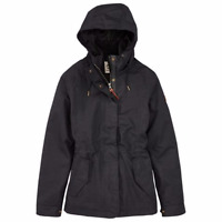 A17SP001 TIMBERLAND WOMEN'S MOUNT CABOT 3-IN-1 WATERPROOF COAT BLACK