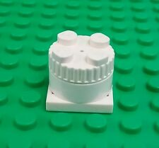 Lego Vintage White 2x2 Sound Brick Classic Space Block Rare x 1 piece