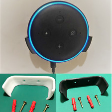 Black or White Wall Mount for Amazon Echo Dot 3rd Gen / Alexa wall fixing stand