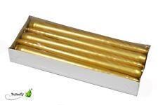 10 Spitzkerzen Gold 24cm Tischkerzen Tafelkerzen Leuchterkerzen Stabkerzen Kerze