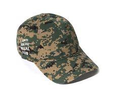 New & 100% Auth Antisocial Social Club Digi Camo Mesmerized Cap Hat supreme bape