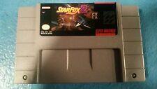 Super Nintendo SNES Star Fox 2 Starfox 2 Cart Only. Professional vinyl label