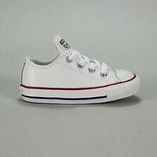 Converse Toddlers/Infants Trainer Leather White Size 2,3,4,5,6,7,8,9,10.