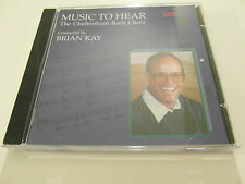 The Cheltenham Bach Choir - Music To Hear ( CD Album ) Used Very Good