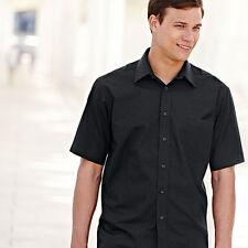 Men's Tuxedo, Dress Short Sleeve Cotton Blend Formal Shirts