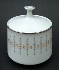 Années 1970 Noritake Tiffany 6787 Motif Thé Taille Sucre Boîte & Couvercle-semble en très bon état