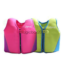 kids childs youth baby neoprene life jacket swim suit life vests buoyancy aid
