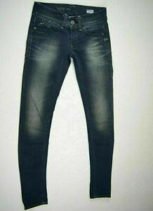 G-Star Jeans 'LYNN SKINNY WMN' NEW Dark Aged Size W24 L30 AU6 US2 XS