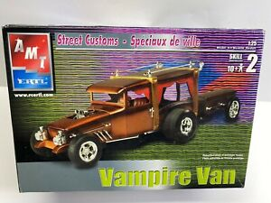 FB AMT 1:25 Scale Barnabas Collins Vampire Van Show Rod Boxed Model Kit NoRes