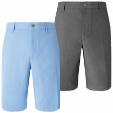 Polyester Slim Flat Front Shorts for Men