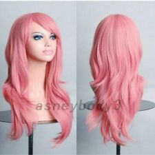 Pink Wig approx. 70cm long New in bag