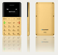 Blaupunkt FXS01 Gold Mobiltelefon Handy Single Micro SIM Bluetooth Telefon