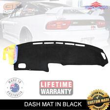 Black DASH MAT Nissan S13 180sx 1/1989-6/1995 Drift Sil80 Type X Nismo DM906