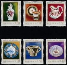 Polen postfris 1981 MNH 2739-2744 - Porcelein