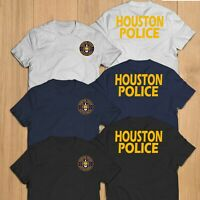 New Houston Police Department Unit Rescue Custom T-Shirt Tee