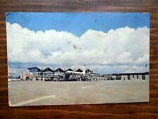 Belfast Airport Aldersgrove Ireland NI 180 Airplane 1965 Used Plastichrome PC