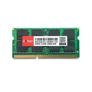 8GB ENROC DDR3L PC-12800 1600MHz 1.35V 204Pin SO-DIMM Notebook Arbeitsspeicher