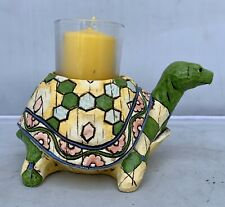 Enesco E8 Heartwood Creek Jim Shore 4.5in Turtle Figurine Candle Holder 6001607