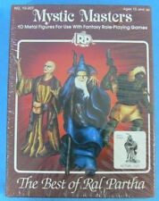 SEALED BEST OF RAL PARTHA MYSTIC MASTERS ROLE-PLAYING GAMES 10 METAL FIGURES