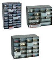Multi Drawer Cabinet Plastic Jewellery Storage Unit for Home Office Garage