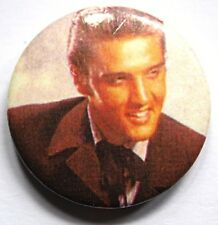 elvis presley old vtg 1980`s bouton Badge Broche (non Chemise Patch LP CD)