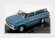 Chevrolet Veraneio S Luxe 1971 Blue Met White EDICOLA 1:43 EDICHEV004