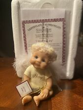 Ashton Drake I Wish You Joy sitting porcelain angel doll original box