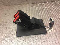MINI COOPER R56 REAR SEAT BELT DOUBLE BUCKLE CLIP LOCK 2756291