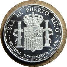 elf Puerto Rico San Juan 450th Anniversary Silver Medal 1971