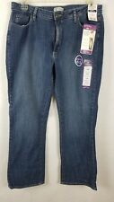 NWT Riders by Lee Woman's Blue Mid Rise Boot Cut Jeans Size 18M