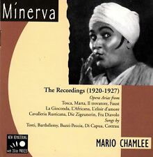 Mario Chamlee • The Recordings (1920-1927) CD Neu