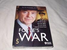 Foyle's War - Set 5 DVD's NEW 3-Discs Michael Kitchen Mystery Acorn British