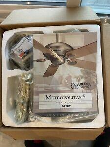 Casablanca Metropolitan Inteli-Touch Ceiling Fan