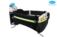 Fashion Running Cycling Nylon Waist Pack With Water Bottle Bag